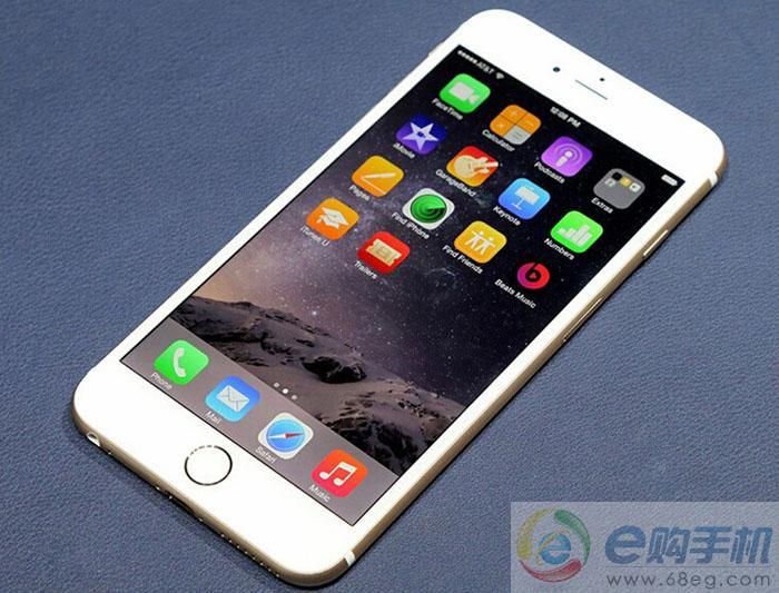 苹果6PLUS真机图片